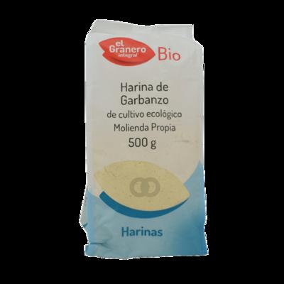 EL GRANERO HARINA DE GARBANZOS BIO 500GR