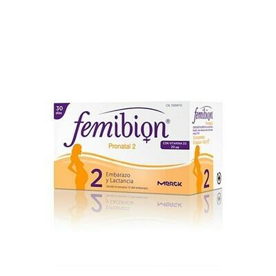 FEMIBION PRONATAL 2 30 COMP Y 30 CAPS