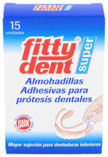 FITTYDENT SUPERADH ALMOHADILLAS ADHESIVAS PROTES 15 U