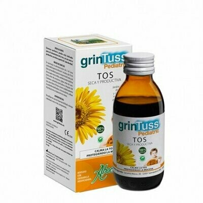 GRINTUSS JARABE CON POLIRESIN PEDIATRIC 180 ML