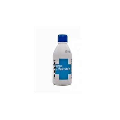 AGUA OXIGENADA MONTPLET 4,9% 1 FRASCO 250 ML