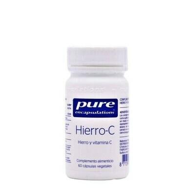PURE ENCAP HIERRO-C 60CAP