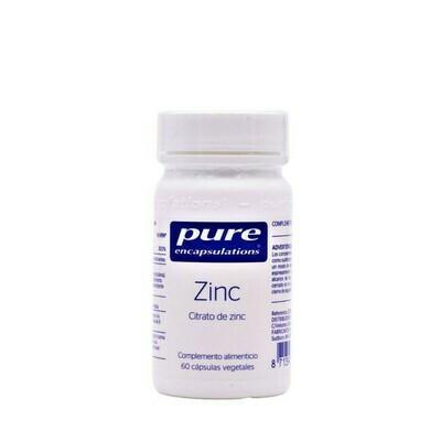 PURE ENCAP ZINC 60CAP