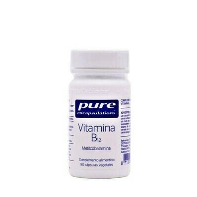 PURE ENCAP VITAMINA B12 90 CAP