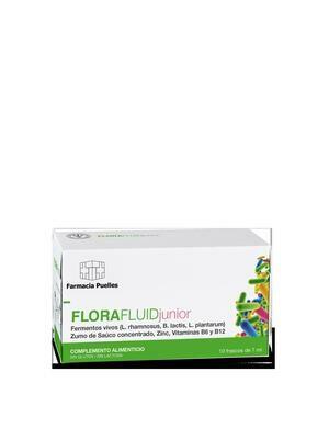 FARMACIA PUELLES FLORA FLUIID JUNIOR 10X10