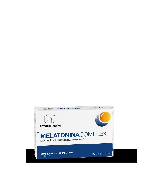 FARMACIA PUELLES MELATONINA COMPLEX 30COMP