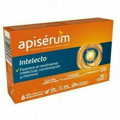 APISERUM INTELECTO 30 CAPSULAS