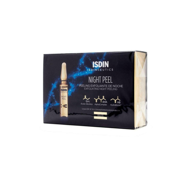 ISDINCEUTICS NIGHT PEEL 2 ML 30 AMPOLLAS