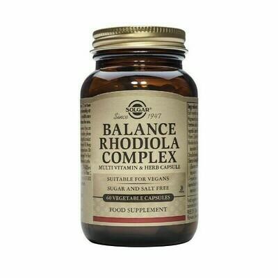 SOLGAR BALANCE RODIOLA COMPLEX 60 CAPS