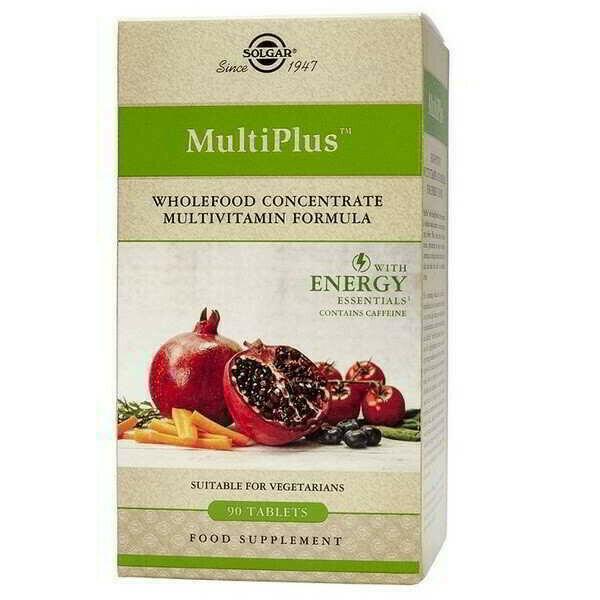 SOLGAR MULTIPLUS ENERGY 90 COMPRIMIDOS