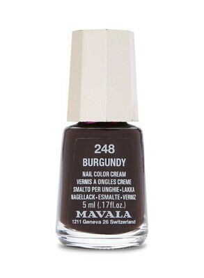 MAVALA BURGUNDY 248