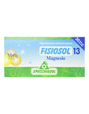 FISIOSOL 13 MAGNESIO 20 VIALES