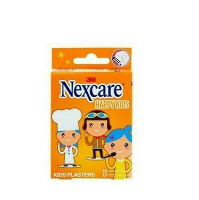 3M NEXCARE ACTIVE HAPPY KIDS APOSITO ADHESIVO PROFESSIONS 10 U 25 MM X 72 MM   1