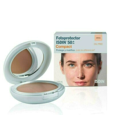 FOTOPROTECTOR ISDIN COMPACT SPF-50  MAQUILLAJE C ARENA 10 G