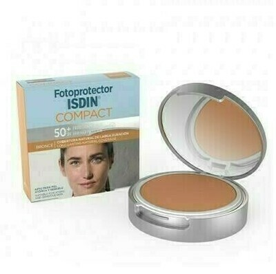 FOTOPROTECTOR ISDIN COMPACT SPF-50  MAQUILLAJE C BRONCE 10 G