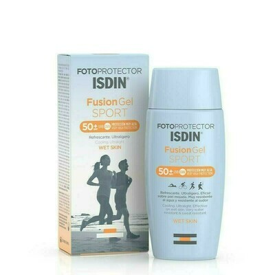 FOTOPROTECTOR ISDIN SPF-50  FUSION GEL BODY 100 ML