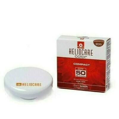 HELIOCARE SPF 50 COMPACTO PROTECTOR SOLAR BROWN 10 G