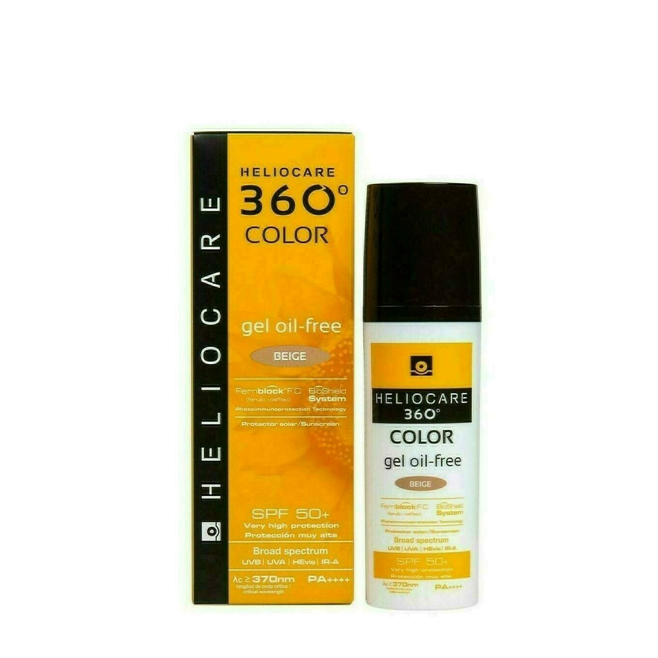 HELIOCARE 360º SPF 50  COLOR GEL OIL-FREE PROTEC BEIGE 50 ML