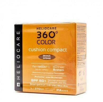 HELIOCARE 360º COLOR CUSHION COMPACT SPF 50  PRO BRONZE INTENSE 15 G