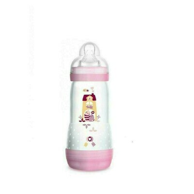 BIBERON ANTICOLICO MAM ANTICOLIC EASY START 320 ML ROSA