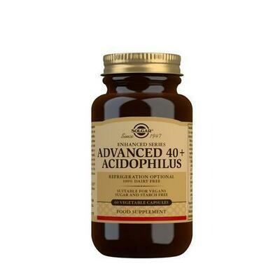 SOLGAR 40  ACIDOPHILUS AVANZADO 60 CAPS VEGET
