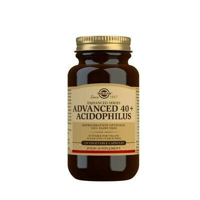 40  ACIDOPHILUS AVANZADO 120 CAPS VEGETALES SOLGAR