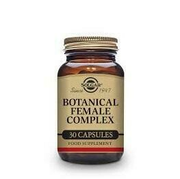 SOLGAR BOTANICAL FEMALE COMPLEX 30 CAPS