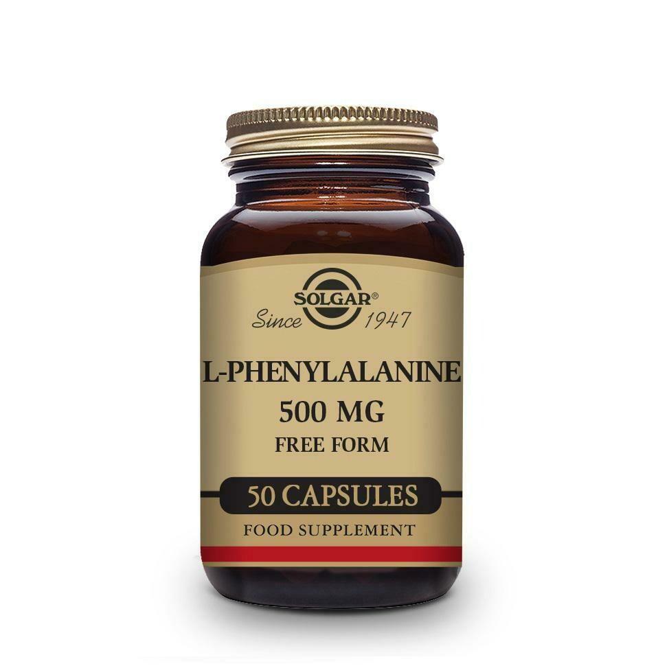 SOLGAR L-FENILALANINA 500MG 50 CAPS