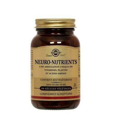 SOLGAR NEURONUTRIENTES 60 CAPSULAS