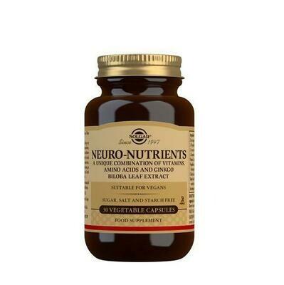 SOLGAR NEURO-NUTRIENTS 30CAP