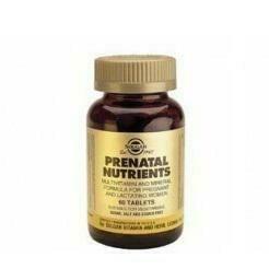 SOLGAR NUTRIENTES PRENATAL 60 COMP