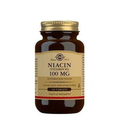 SOLGAR NIACINA 100 MG 100 COMP