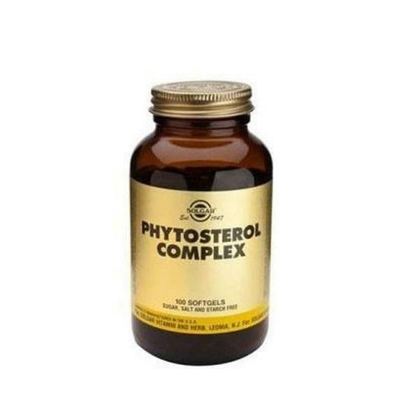 SOLGAR PHYTOSTEROL COMPLEX 100CAP