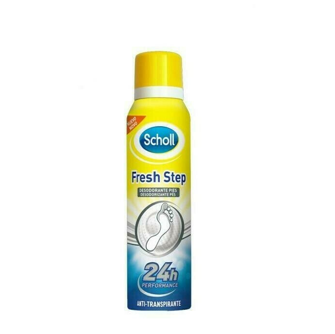 SCHOLL FRESH STEP ANTITRANSPIRANTE AEROSOL 150 ML
