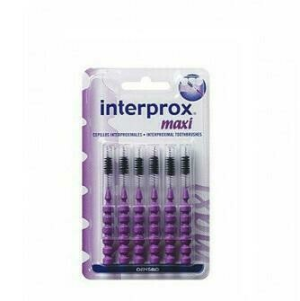 CEPILLO ESPACIO INTERPROXIMAL INTERPROX PLUS MAXI 6 U