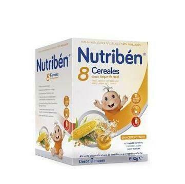 NUTRIBEN 8 CER MIEL MUESLI 600 G