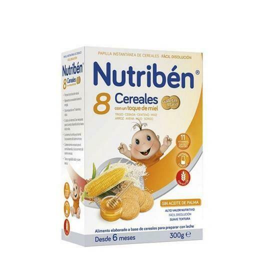 NUTRIBEN 8 CEREALES Y MIEL CALCIO 300 G