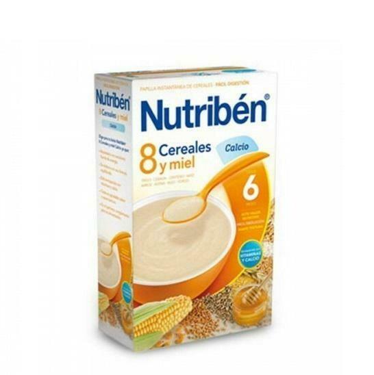 NUTRIBEN 8 CEREALES Y MIEL CALCIO 600 G