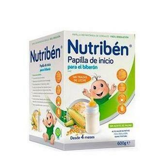 NUTRIBEN INICIO BIBERON PAPILLA SIN GLUTEN 600 G