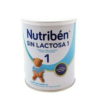 NUTRIBEN SIN LACTOSA 400 G 1 LATA NEUTRO
