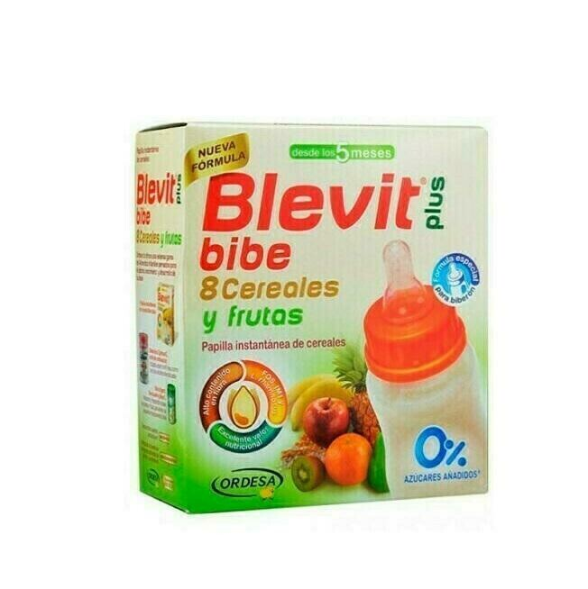 BLEVIT PLUS BIBE 8 CEREALES Y FRUTAS POLVO 600 G