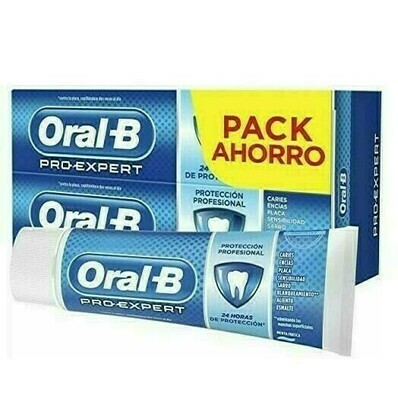 ORAL-B PRO EXPERT PROTECCION PROFESIONAL PASTA D PACK 100 ML 2 U
