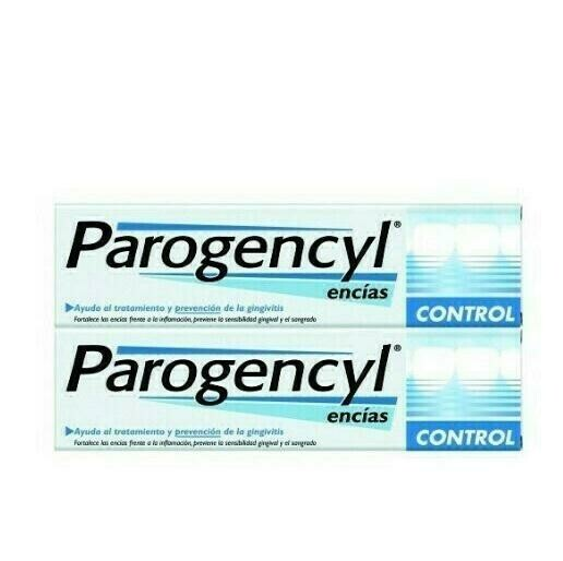 PAROGENCYL CONTROL PASTA DENTAL DUPLO 125  ML 2 U