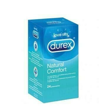 DUREX NATURAL PLUS PRESERVATIVOS 24 U