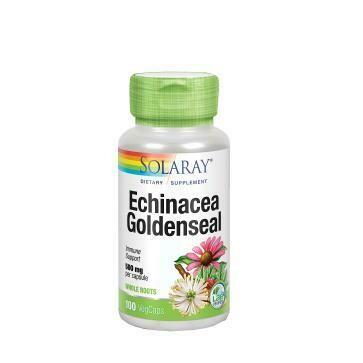 SOLARAY ECHINACEA GOLDENSEAL 100 CAPS