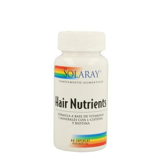 SOLARAY HAIR NUTRIENTS 60 CAPSULAS