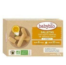 ALMOND BABYBIO GALLETAS DENTICION 10MESES 120G