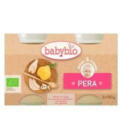 BABYBIO POTITOS FRUTAS PERA BIO 2X130GR