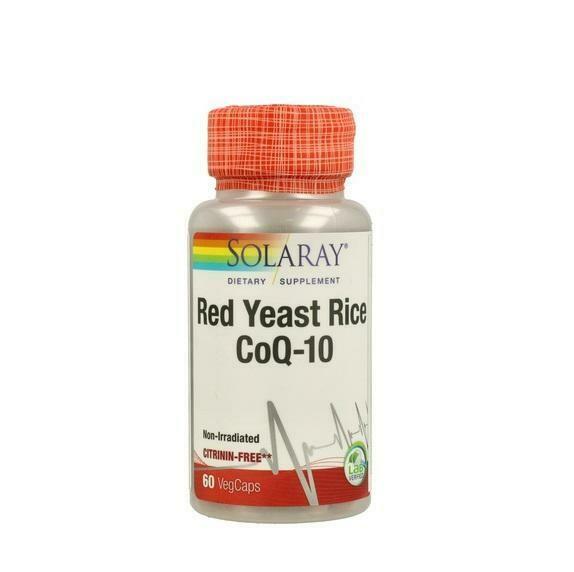 SOLARAY RED YEAST RICE   COQ 10 45 CAP