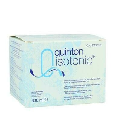 QUINTON ISOTONIC AMP BEBIBLE 10 ML 30 AMP